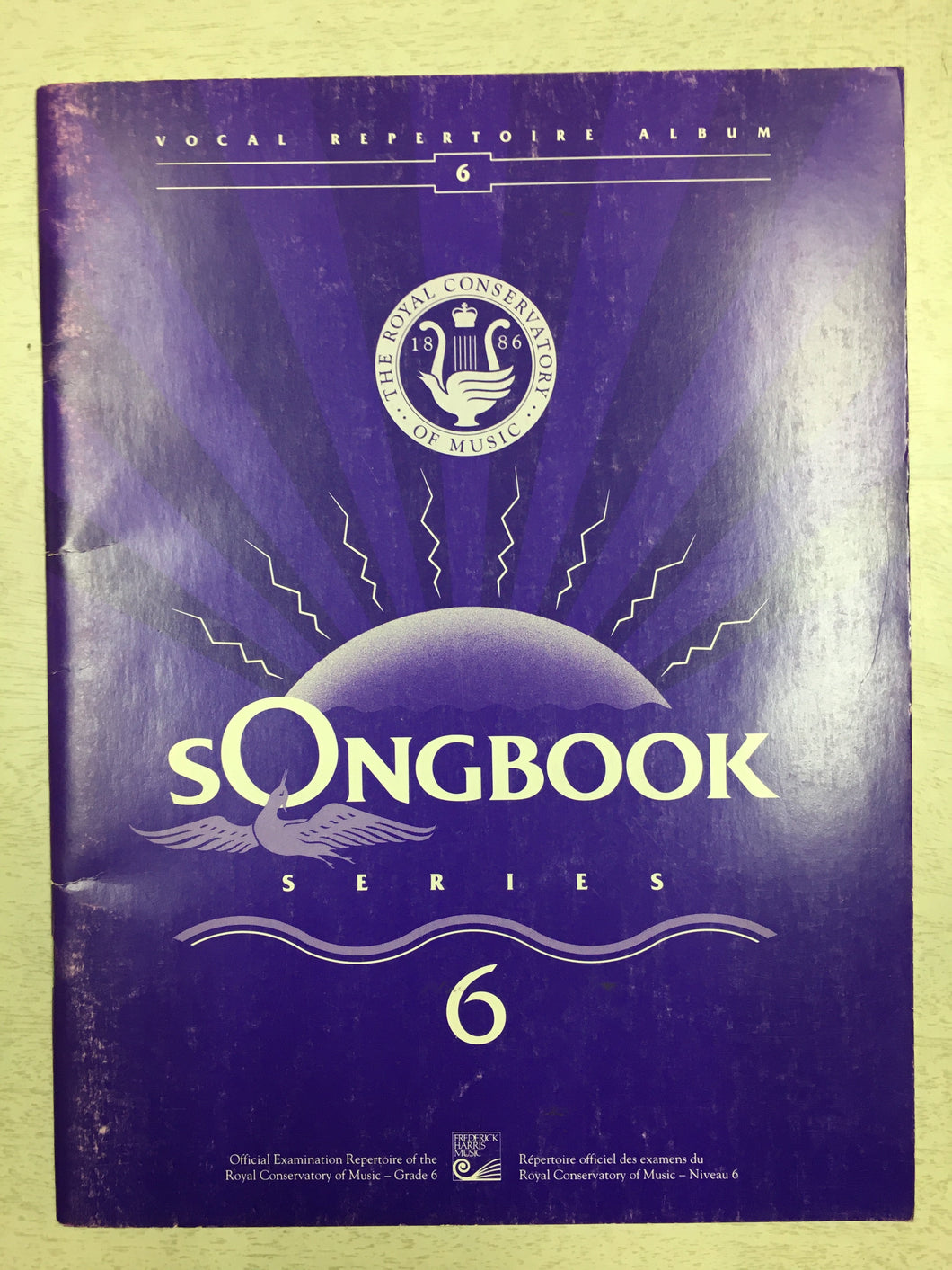 Songbook Series Voice Repertoire - Grade 6 RCM (1991)