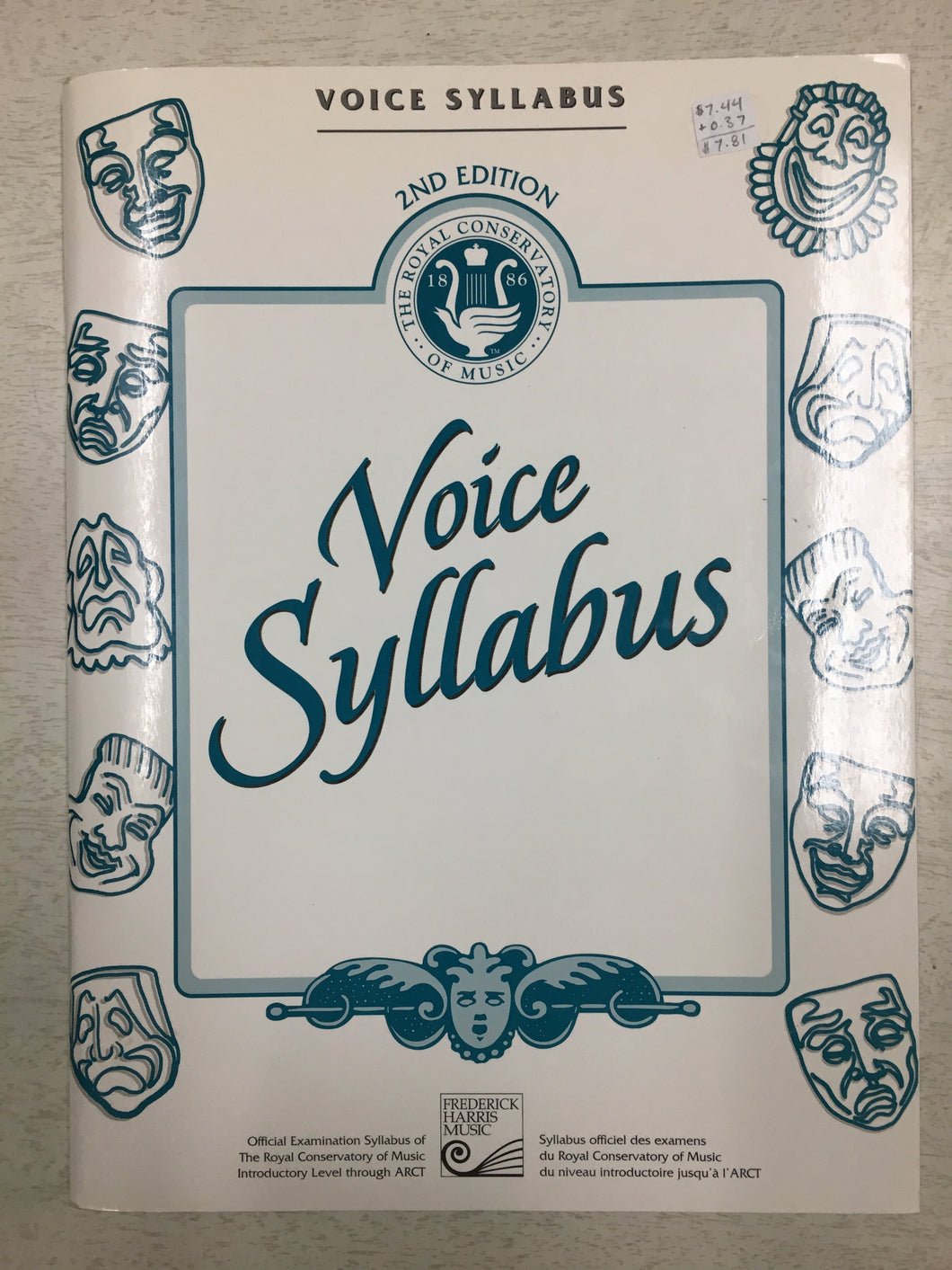 Voice Syllabus 2nd Edition 1998