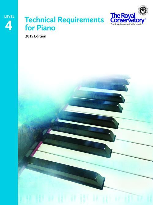 Technical Requirements 2015 for Piano Level 4
