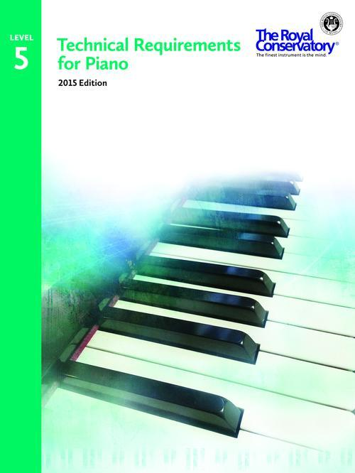 Technical Requirements 2015 for Piano Level 5