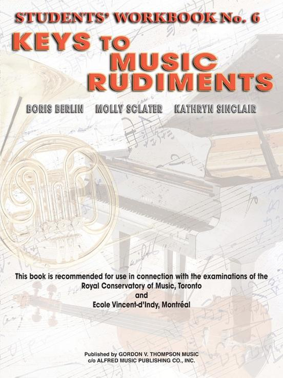 Keys To Music Rudiments No. 6, Berlin, Sclater & Sinclair