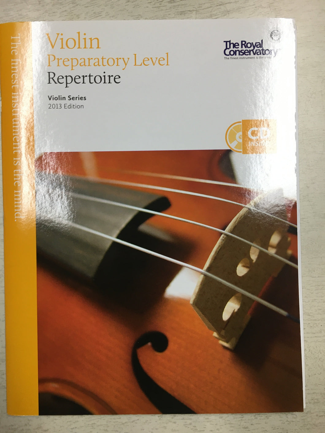 RCM Violin Repertoire Intro 2013 with CD