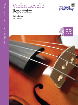 RCM Violin Repertoire Gr.3 2013 with CD