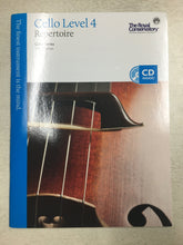 Load image into Gallery viewer, RCM Cello Repertoire 4 with CD (2013)