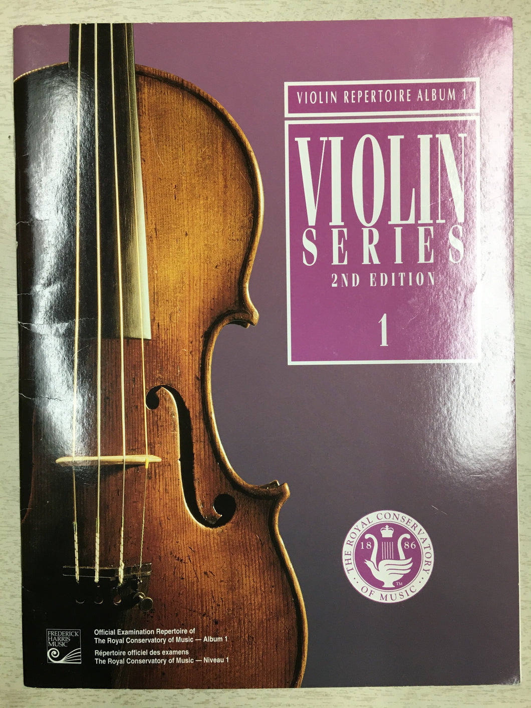 RCM Violin Series 2nd Edition 1 (1999)