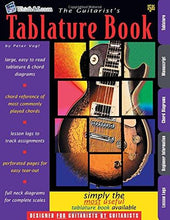 Load image into Gallery viewer, The Guitarist's Tablature Book, Peter Vogl