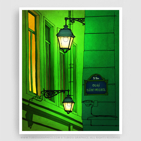 QUAI SAINT-MICHEL (GREEN VERSION)