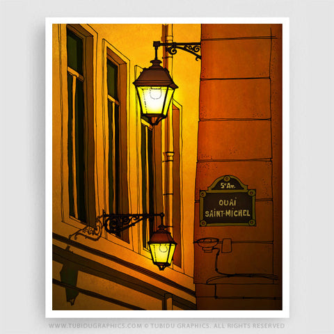 Alleyway- Paris inspired fine art, great for interior makeover in a budget with offers you can't miss on multiple prints