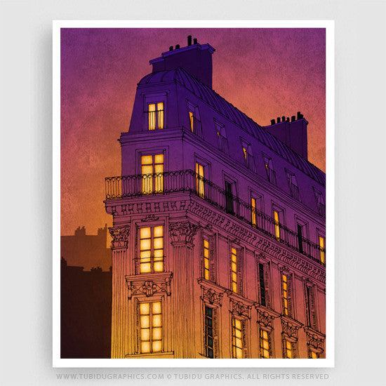 Affordable room decor with wall canvas painting from Giclee print edition