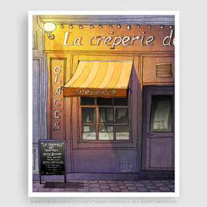 LA CREPERIE (PURPLE VERSION)