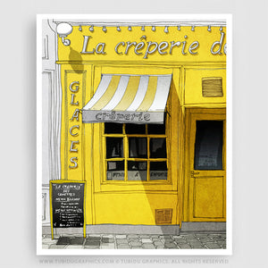LA CREPERIE (YELLOW VERSION)
