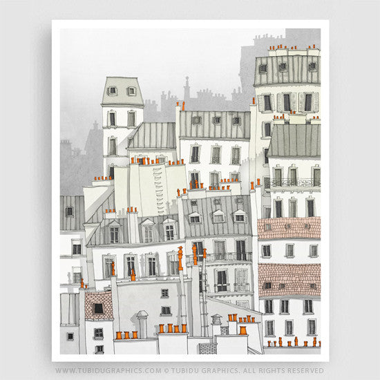 MONTMARTRE (WHITE VERSION)