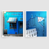 SET OF TWO PARIS ILLUSTRATION PRINTS (TS204)