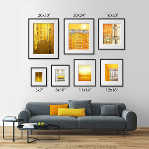 Morning Shine- Wall art in vivid colours to brighten up any dull interior