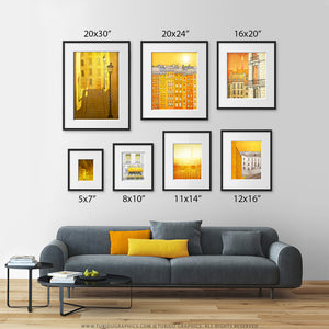 SET OF THREE PARIS ILLUSTRATION PRINTS (TS303)