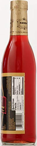 Kedem Gourmet Sherry Cooking Wine 12.7oz Bottle, No Artificial Colors of Flavors, Gluten Free, No Sugar Added, Certified Kosher