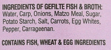 Load image into Gallery viewer, Yehuda Sweet Gefilte Fish, 24oz (2 Pack) Kosher for Passover