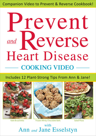 Prevent and Reverse Heart Disease COOKING DVD
