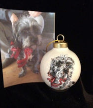 Load image into Gallery viewer, PET PORTRAITS ORNAMENT