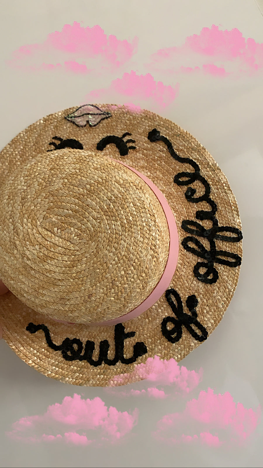 Boater hat-CUSTOMIZE ME