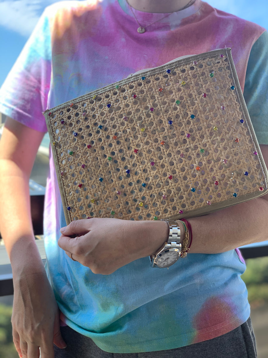 Lily bling clutch