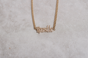 Hustle Hard Necklace
