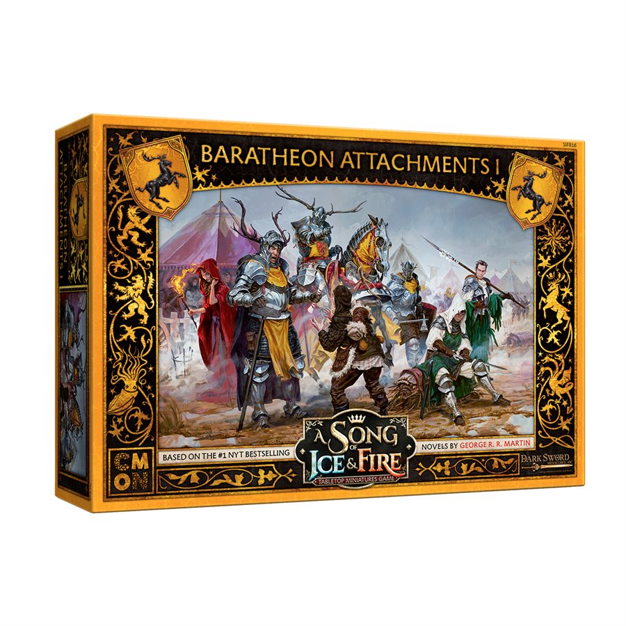 A Song of Ice & Fire: Baratheon Attachments #1 | Ghost Quarter Games