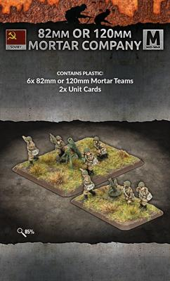 SU772 82mm And 120mm Mortar Company | Ghost Quarter Games