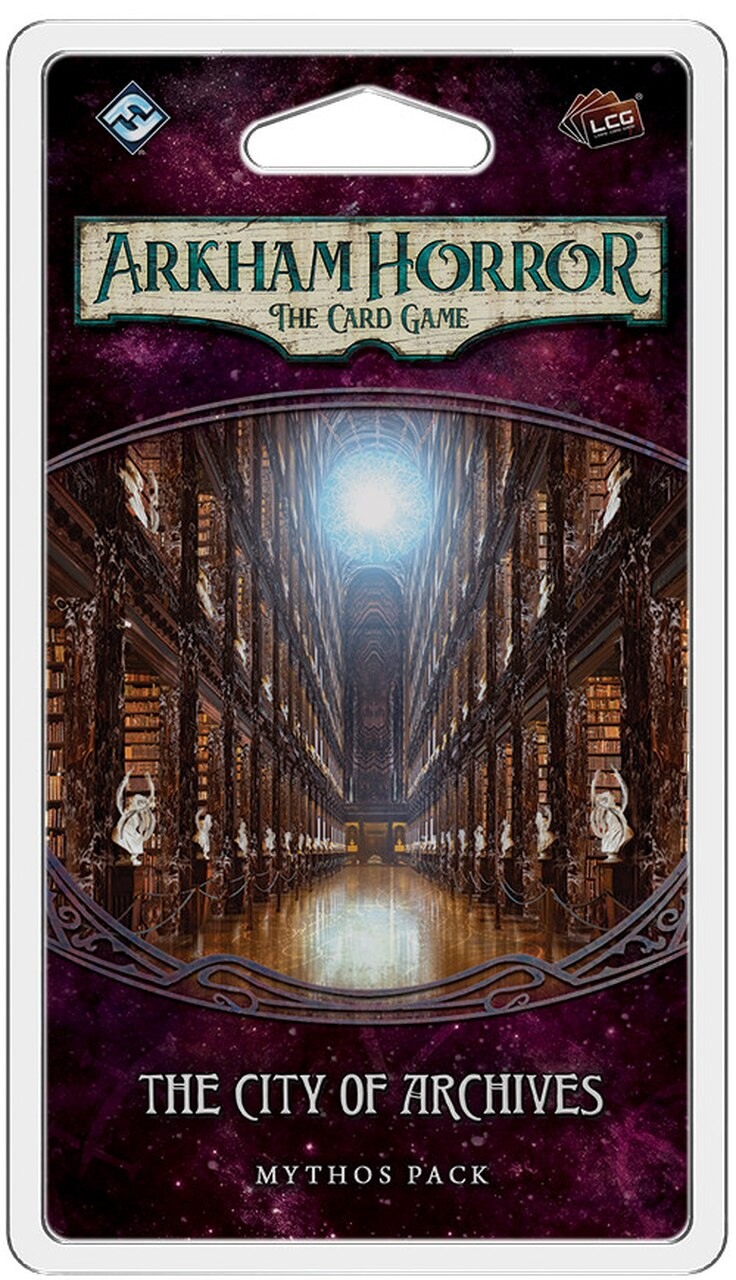 Arkham Horror LCG: The City of Archives | Ghost Quarter Games