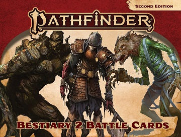 Pathfinder RPG: Bestiary 2 Battle Cards (P2) | Ghost Quarter Games