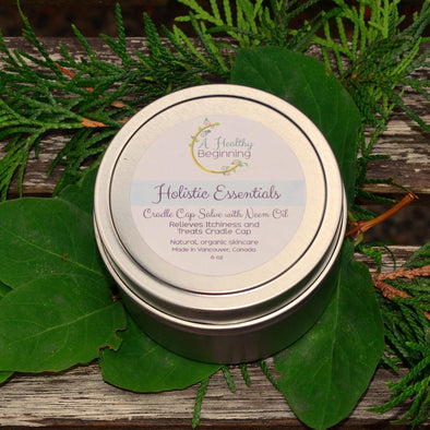 Cradle Cap Salve with Neem Oil-A Healthy Beginning