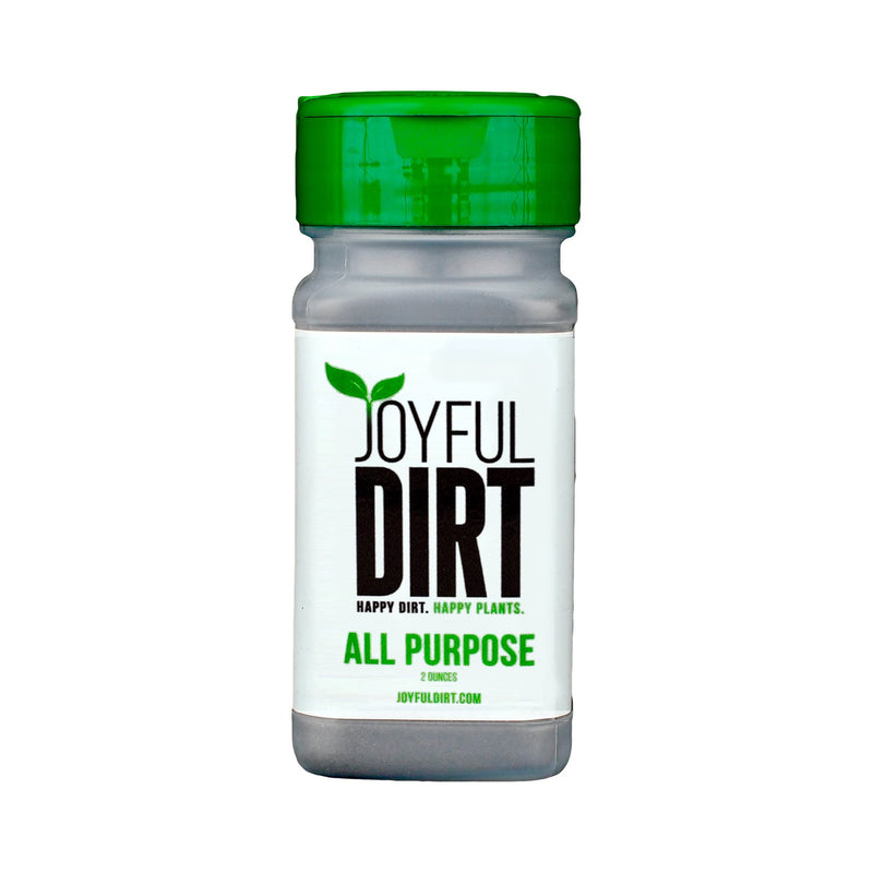 Joyful Dirt organic all purpose fertilizer and plant food