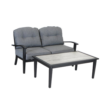 Denali Loveseat and Coffee Table