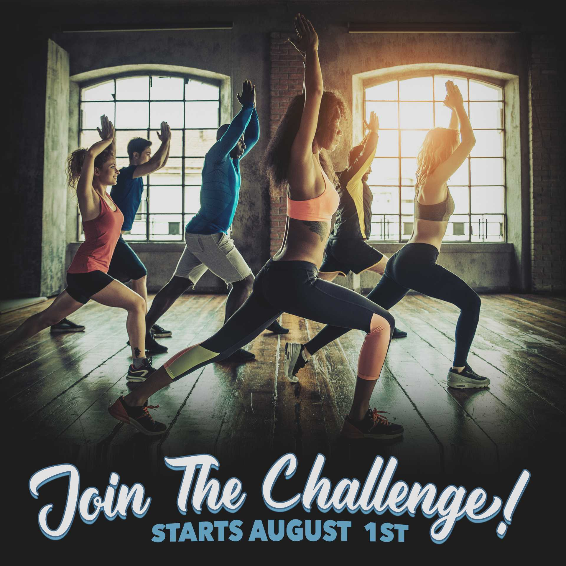 Fit Girls August 1st Challenge