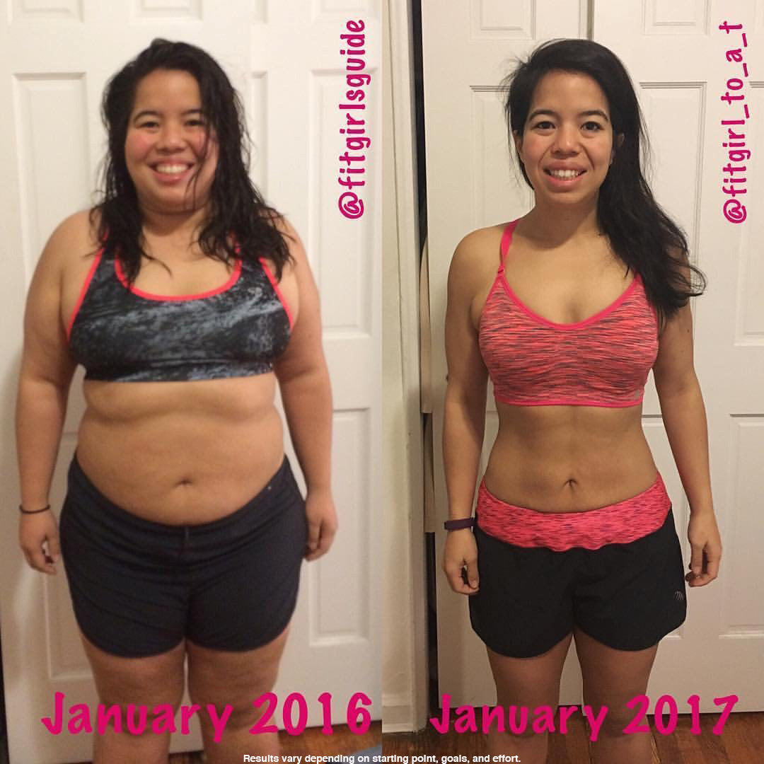 Testimonials with FitGirlsGuide
