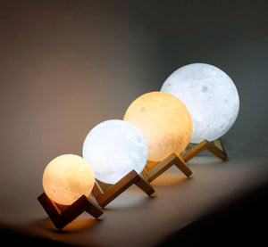 Moon LED Lamp, 16 Adjustable Colors