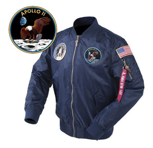 Open image in slideshow, Apollo 11 Mission Anniversary MA-1 Jacket