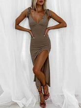 Load image into Gallery viewer, Tight Mid Dress grey full look