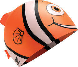 TYR Happy Fish Junior Silicone Swim Cap - Swimventory