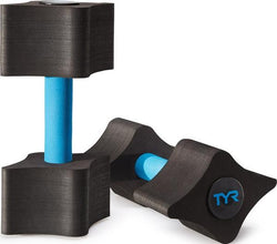 TYR-Aquatic Fitness Resistance Dumbbells - Swimventory