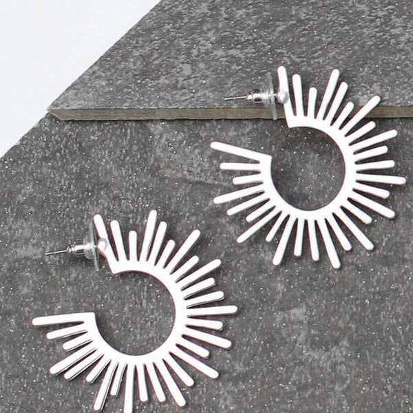 Ferris Sunburst Hoops
