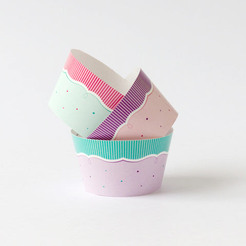 Whimsical Cupcake Wrapper