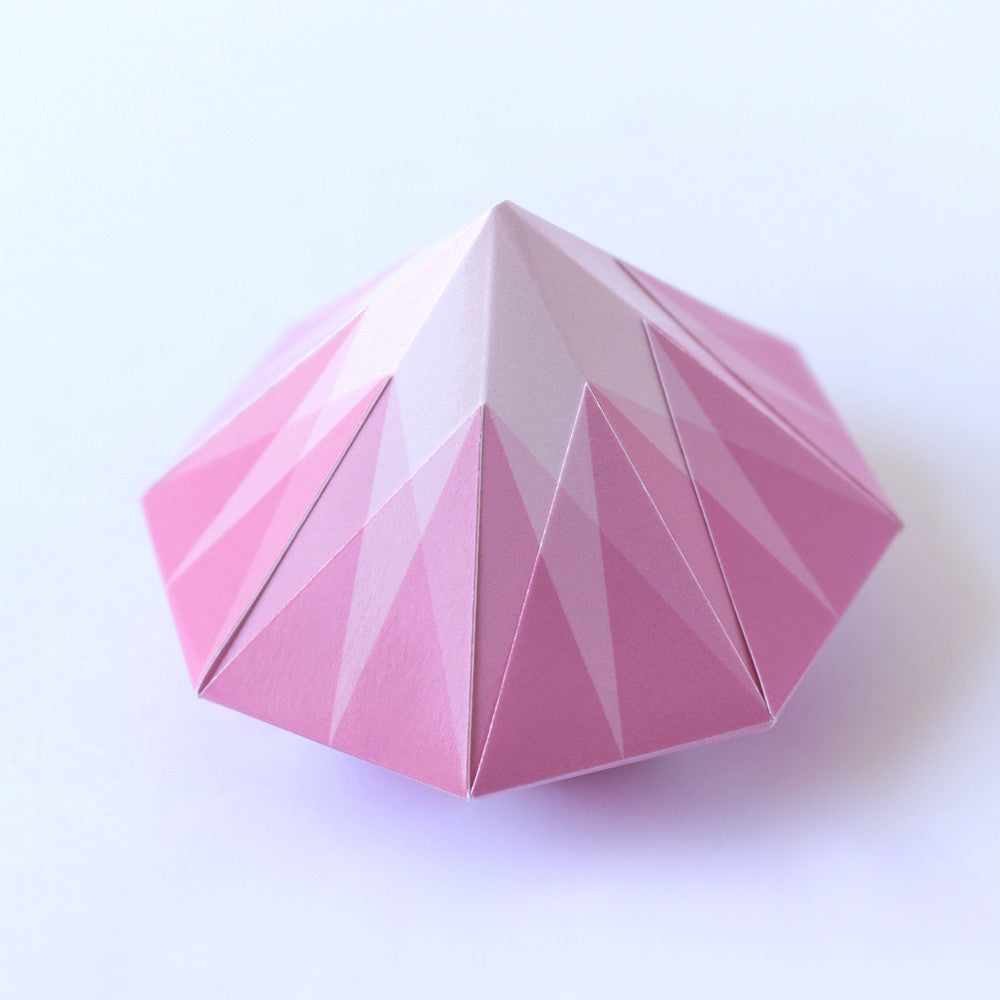 tutorial to make origami december paper how diamond an easy