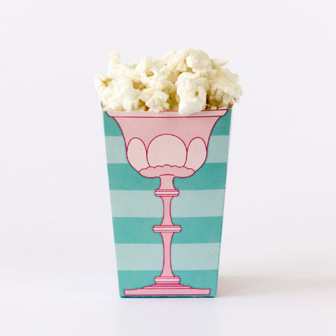 Whimsical Popcorn Box