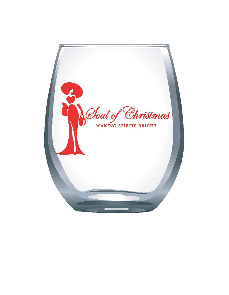 SOUL OF CHRISTMAS WINE GLASSES -  Christmas Club Store