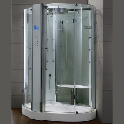 "Image of Athena 59"" Walk In Steam Shower - WS-122"
