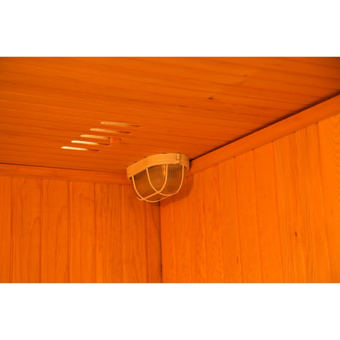 Image of SunRay Baldwin 3 Person Traditional Sauna - HL200SN