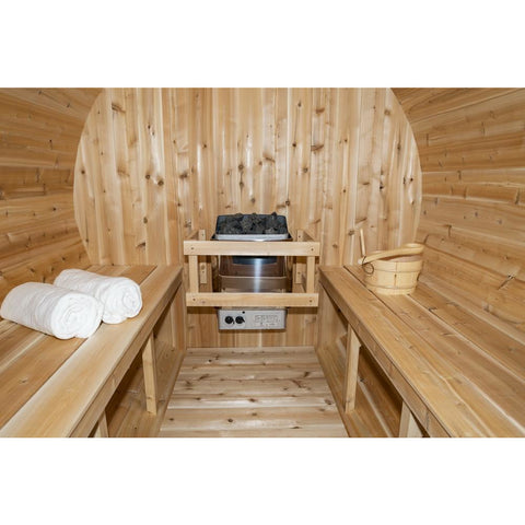 Image of Dundalk Barrel Sauna Canadian Timber Serenity - CTC2245W