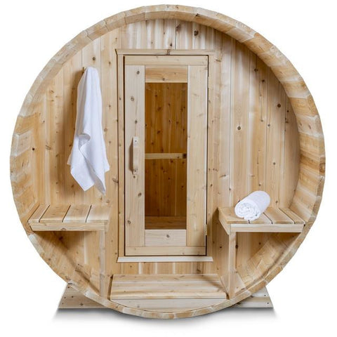 Dundalk Barrel Sauna Canadian Timber Serenity - CTC2245W