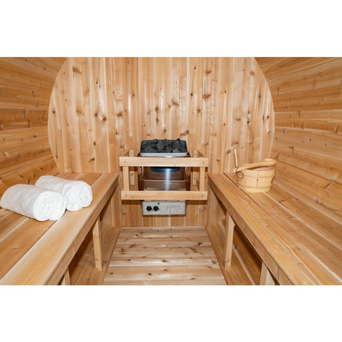 Image of Dundalk Barrel Sauna Canadian Timber Harmony - CTC22W